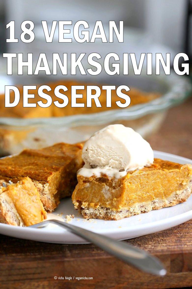 Vegan Thanksgiving Desserts  18 Vegan Thanksgiving Desserts Vegan Richa