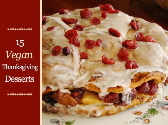Vegan Thanksgiving Desserts  15 Vegan Thanksgiving Desserts Plus Toppings