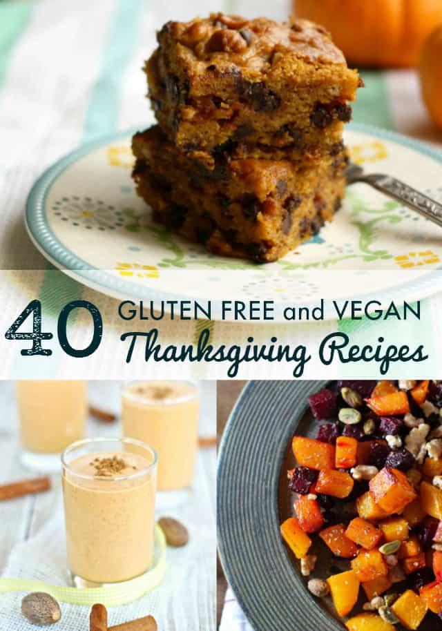 Vegan Thanksgiving Desserts  40 Vegan and Gluten Free Thanksgiving Recipes The