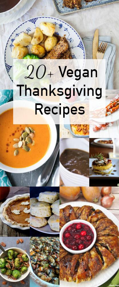 Vegan Thanksgiving Dishes  Vegan Thanksgiving Recipes