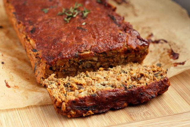 Vegan Thanksgiving Loaf  Gluten free Vegan Christmas Recipes