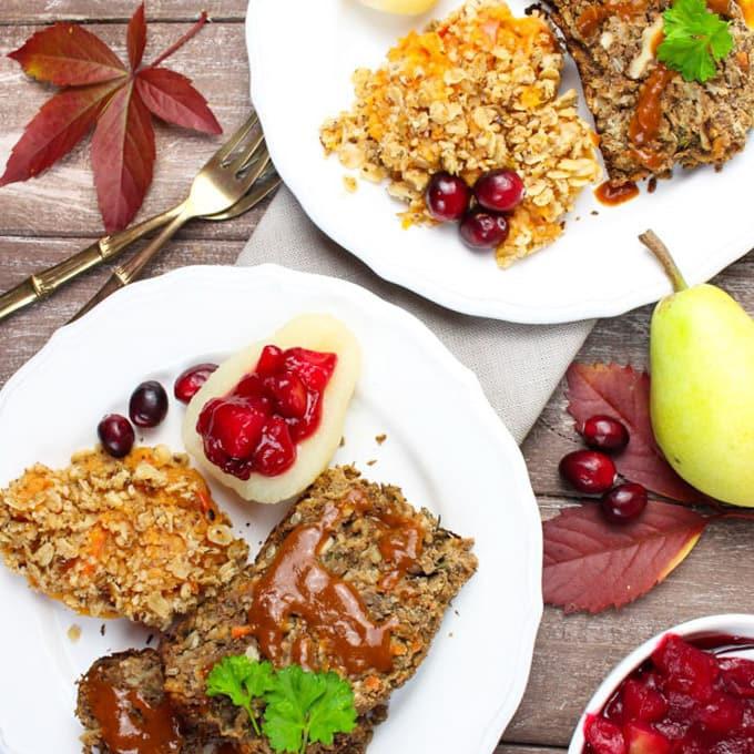 Vegan Thanksgiving Loaf  Vegan Thanksgiving Lentil Loaf Vegan Heaven