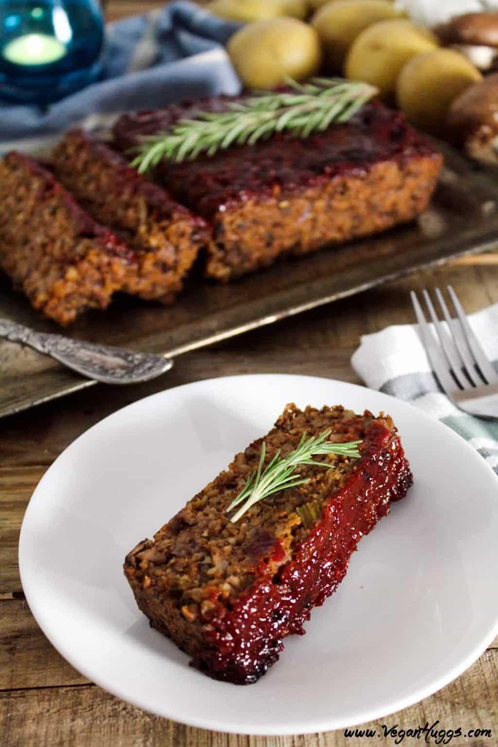 Vegan Thanksgiving Loaf  Vegan Thanksgiving Menu Plan Veggies Save The Day