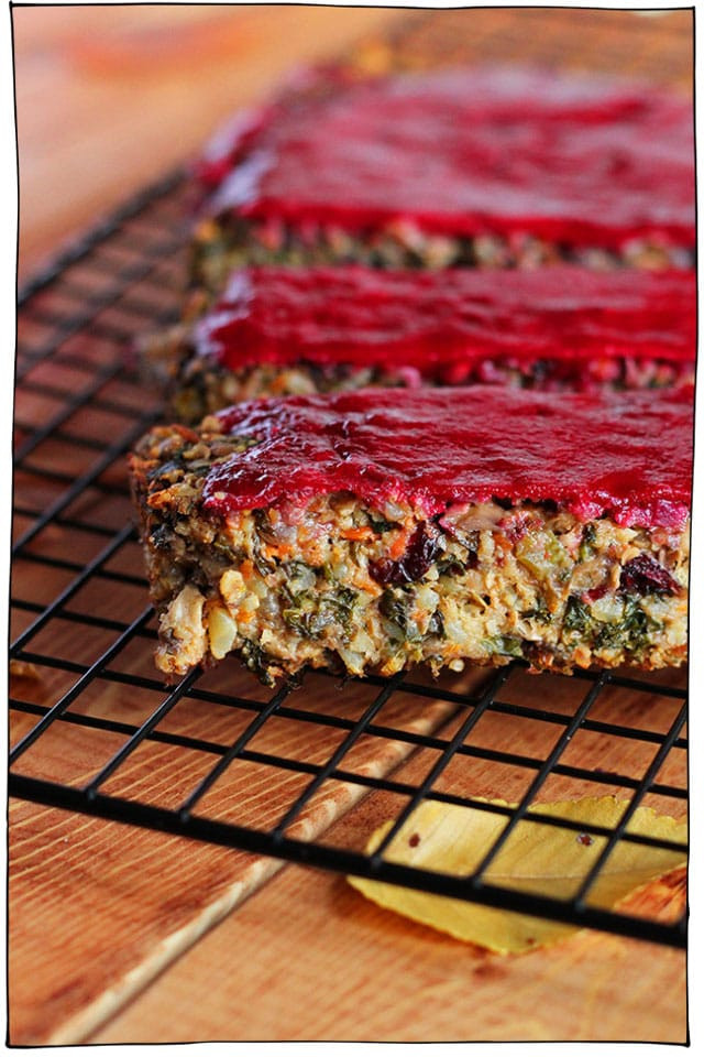 Vegan Thanksgiving Loaf  25 Vegan Holiday Main Dishes That Will Be The Star of the
