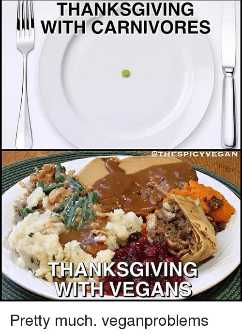 Vegan Thanksgiving Memes  25 Best Memes About Vegan Thanksgiving