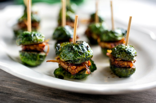 Vegan Thanksgiving Nyc  Ve arian Thanksgiving Brussels Sprouts Sliders The