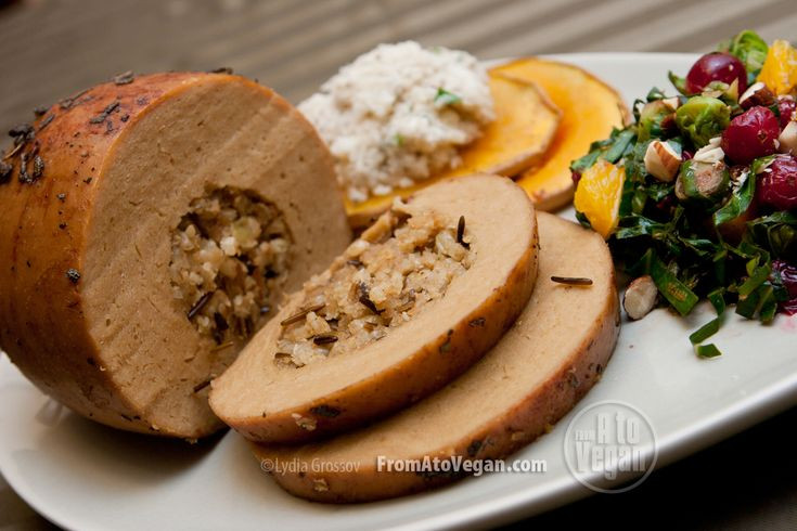 Vegan Thanksgiving Roast  40 best images about Vegan Thanksgiving Recipes on Pinterest