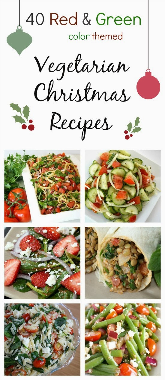 Vegetarian Christmas Appetizers  The Garden Grazer Ve arian Christmas Recipes Color