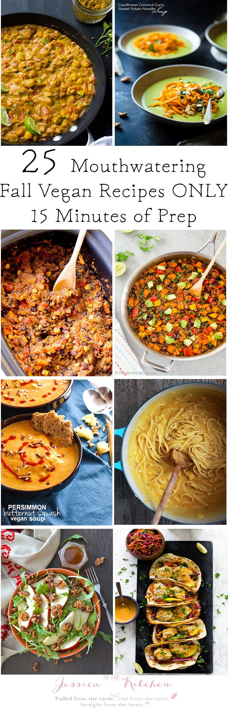Vegetarian Fall Dinner Recipes  25 Mouthwatering Fall Vegan Dinner Recipes You Can Prep in