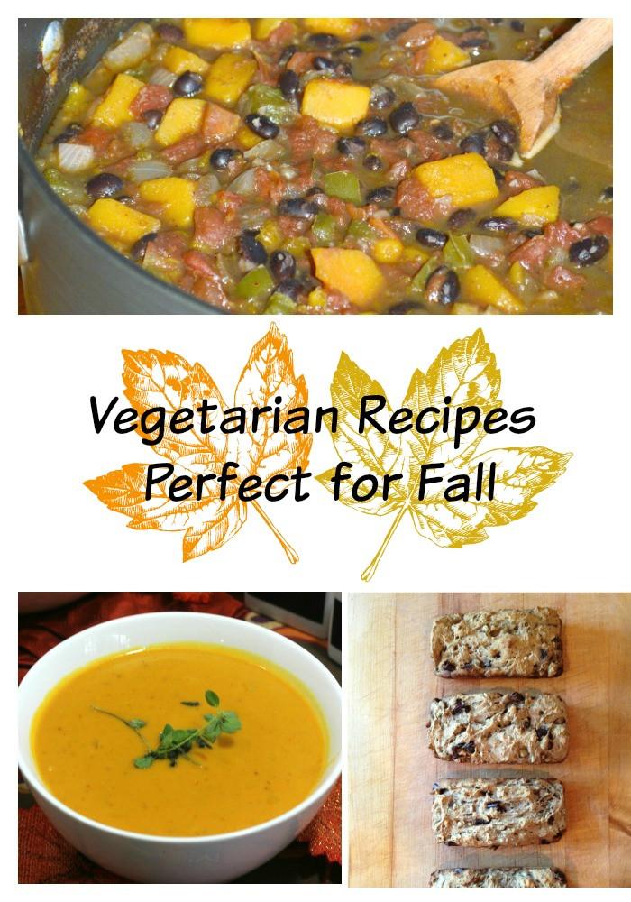 Vegetarian Fall Recipes  Ve arian Recipes Perfect for Fall ve arian
