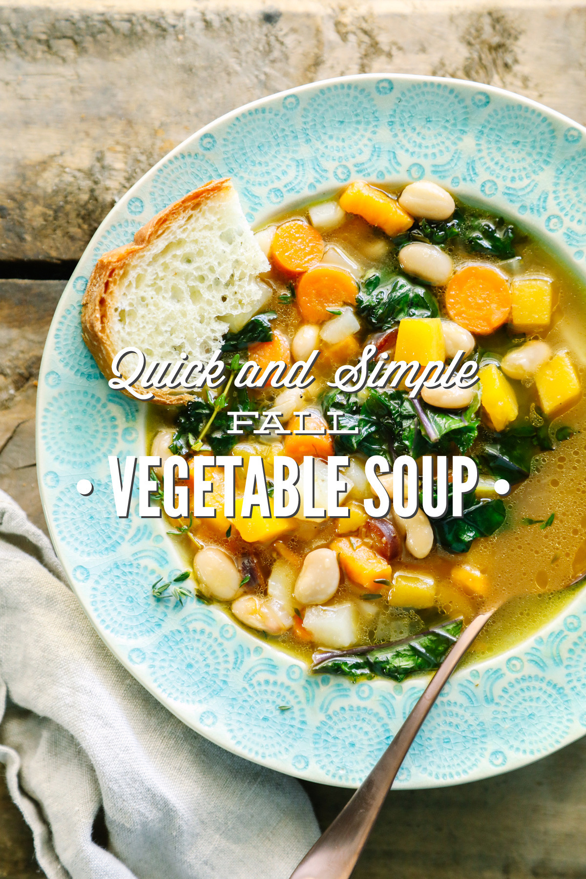 Vegetarian Fall Soup Recipes  Quick and Simple Fall Ve able Soup Live Simply