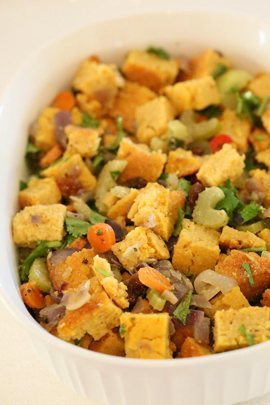 Vegetarian Stuffing Recipes Thanksgiving  7 Vegan Thanksgiving Dressings and Stuffing Recipes