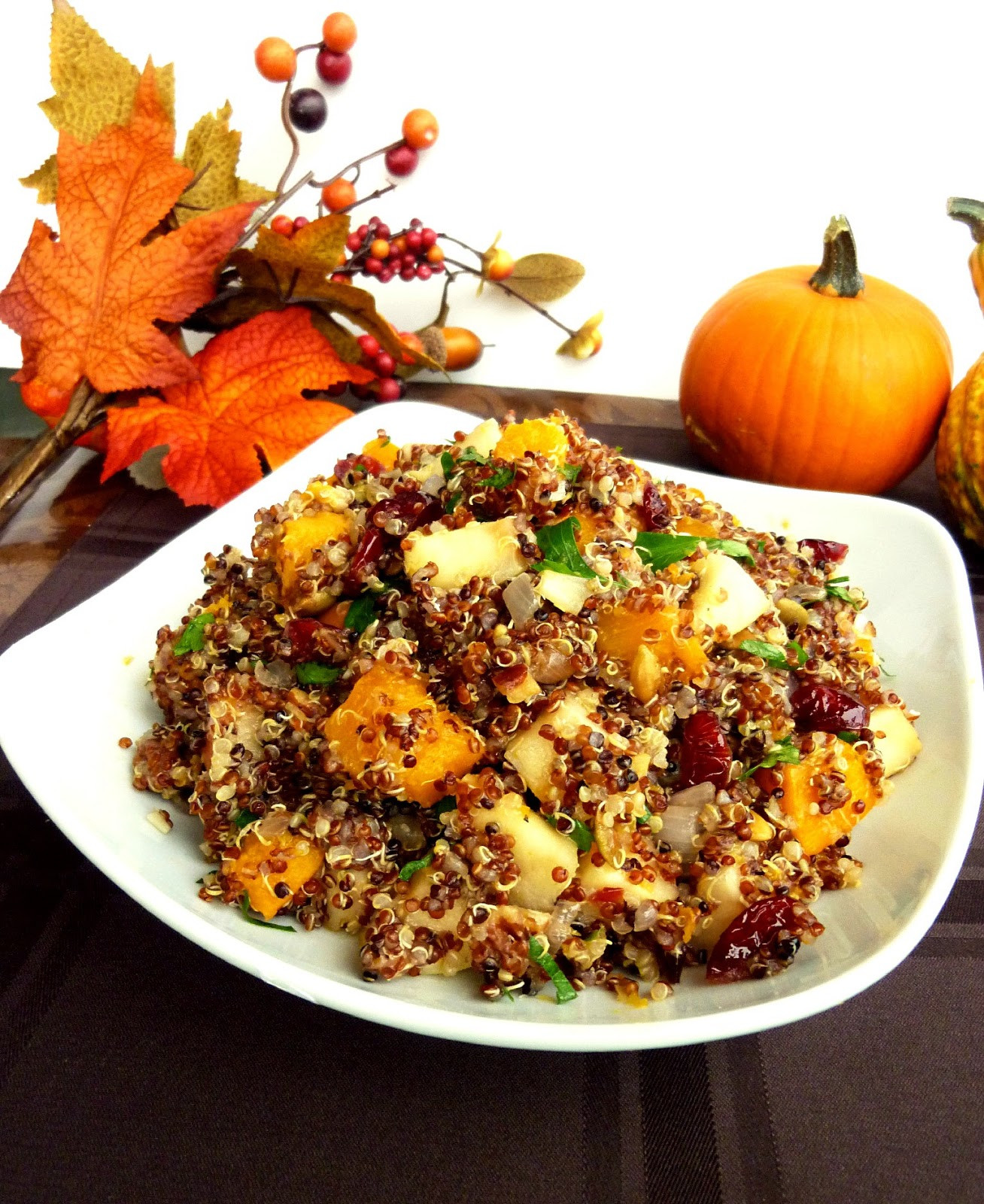 Vegetarian Thanksgiving Dish  Vanilla & Spice Recipes for a Ve arian Thanksgiving