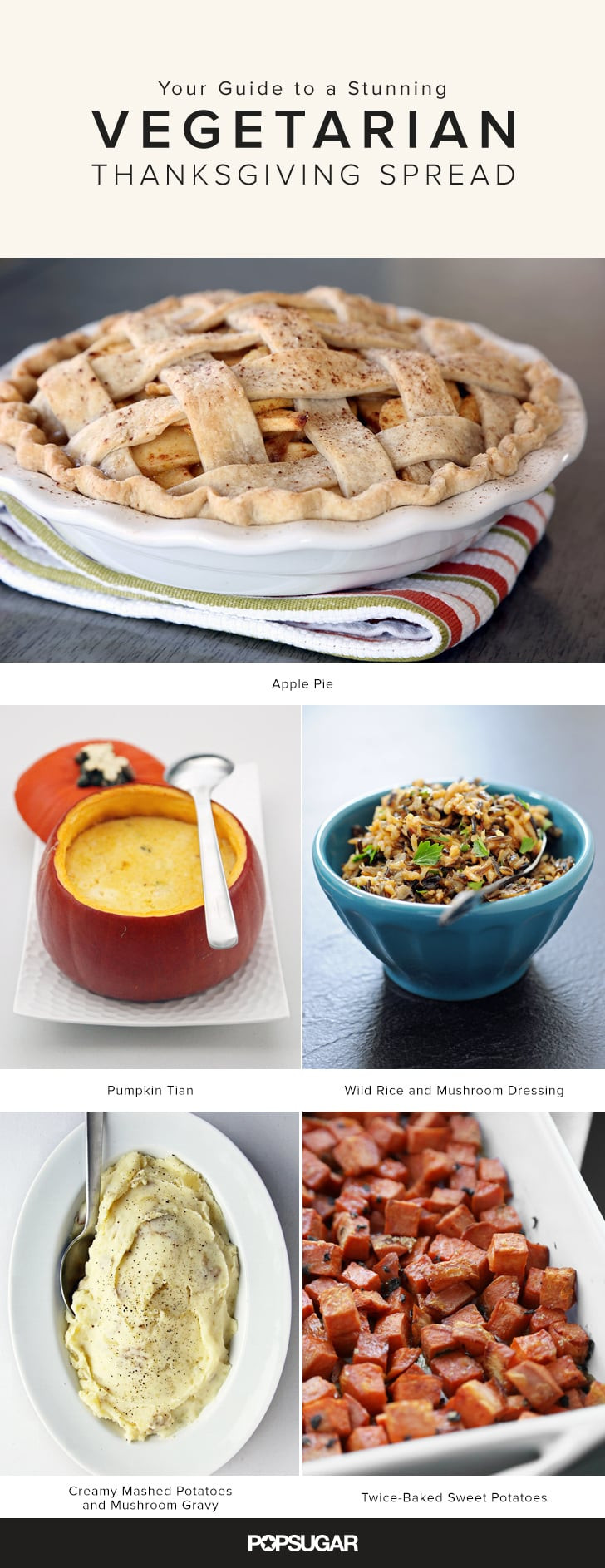Vegetarian Thanksgiving Food  Ve arian Thanksgiving Menu and Recipes