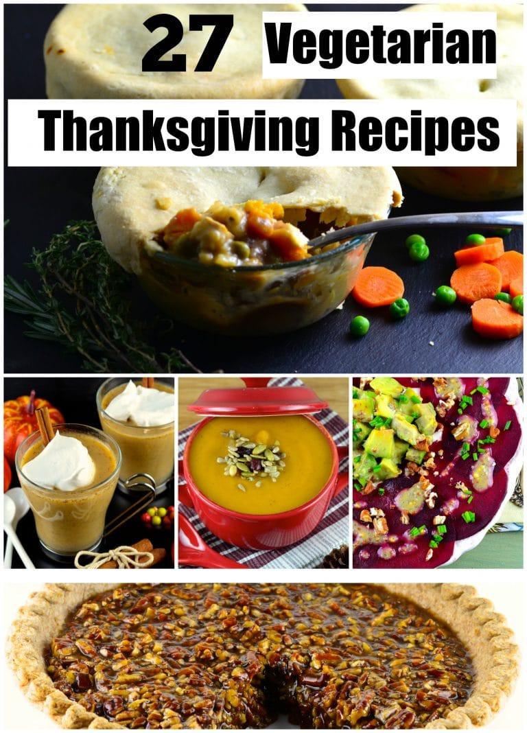 Vegetarian Thanksgiving Ideas  27 ve arian thanksgiving recipes