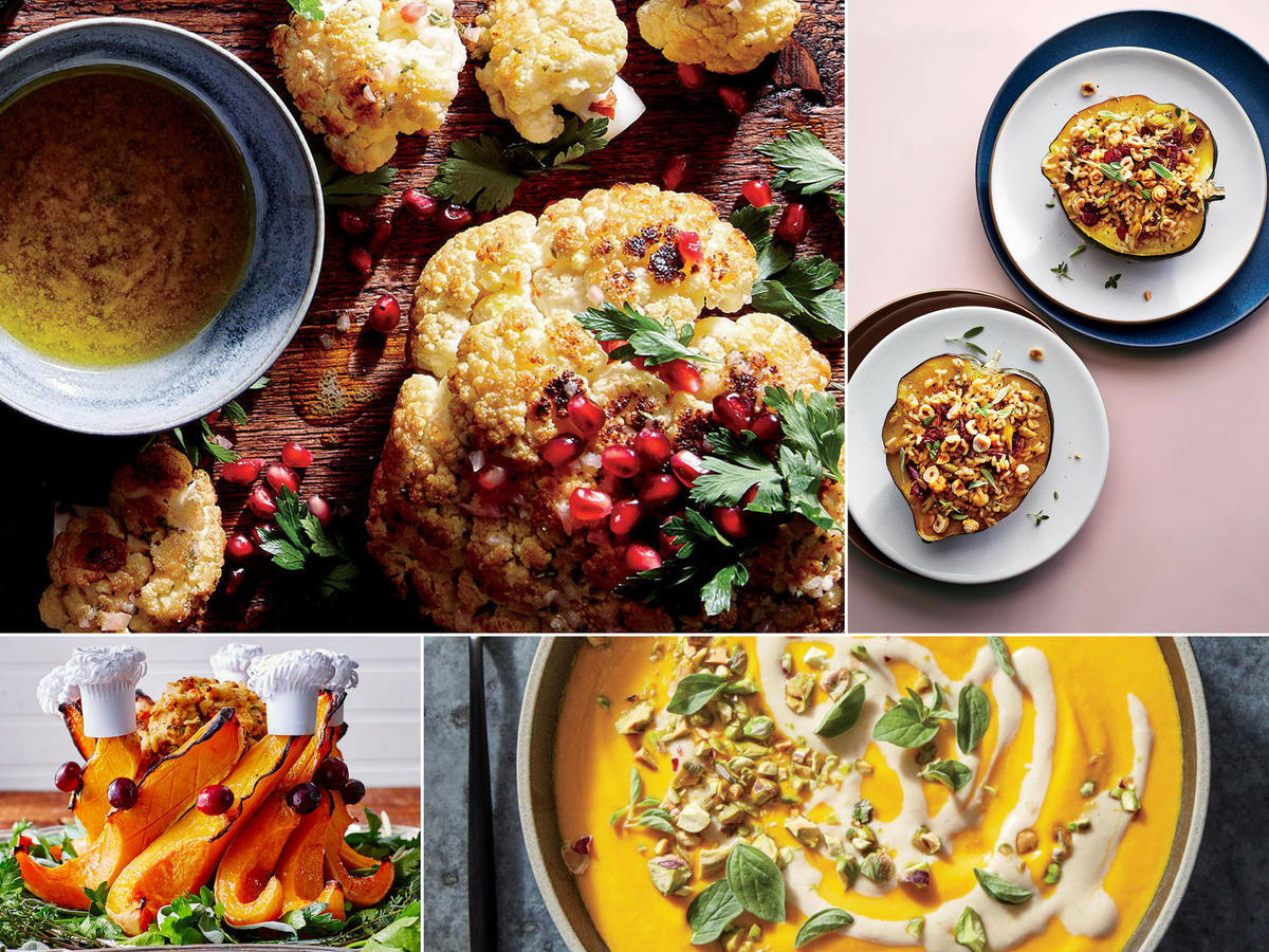 Vegetarian Thanksgiving Ideas  Vegan Thanksgiving Menu Recipes and Ideas Cooking Light