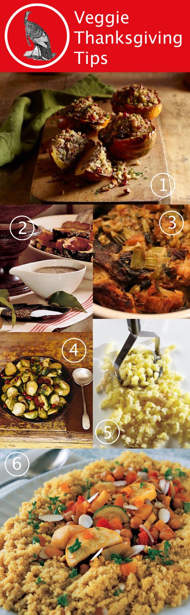 Vegetarian Thanksgiving Ideas  Ve arian Thanksgiving Tips & Ideas