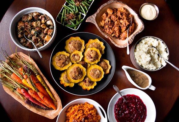 Vegetarian Thanksgiving Ideas  Thanksgiving Dinner Menu Ideas Easyday