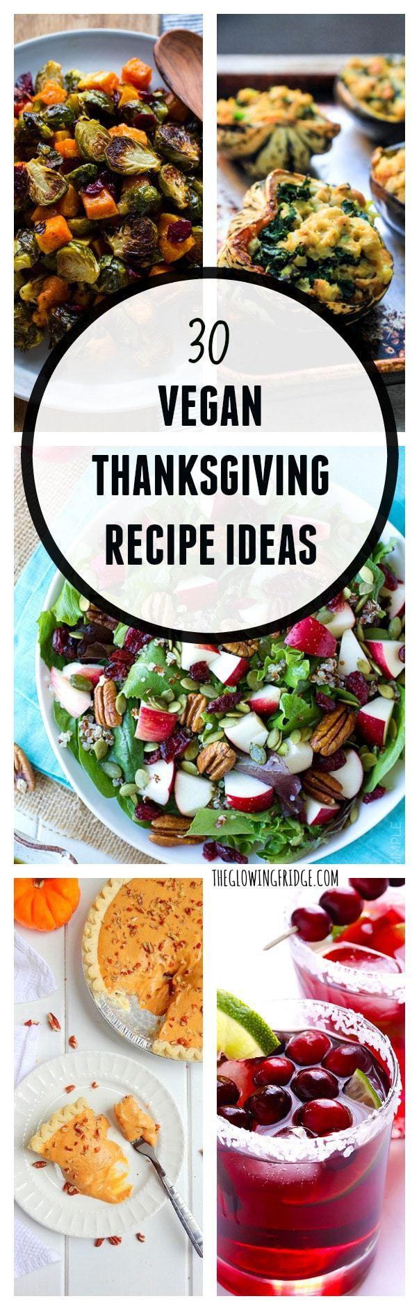 Vegetarian Thanksgiving Ideas  30 Vegan Thanksgiving Recipe Ideas The Glowing Fridge