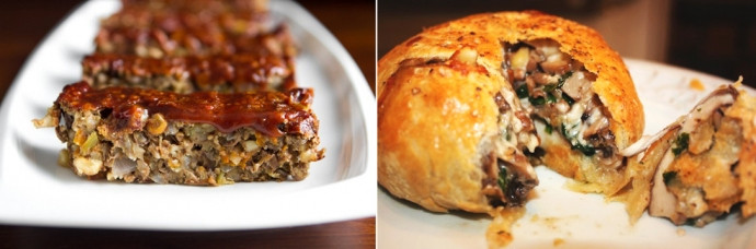 Vegetarian Thanksgiving Loaf  THANKSGIVING RECIPES