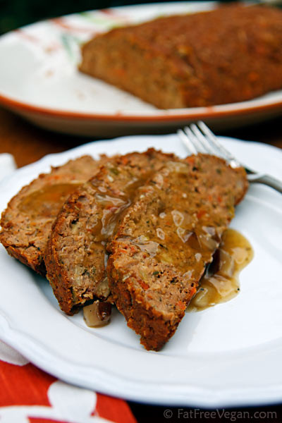Vegetarian Thanksgiving Loaf  Thanksgiving Meatless Loaf