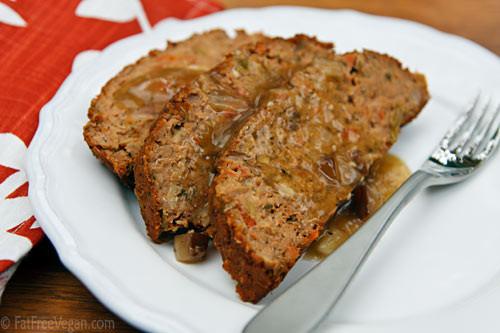 Vegetarian Thanksgiving Loaf  Thanksgiving Meatless Loaf
