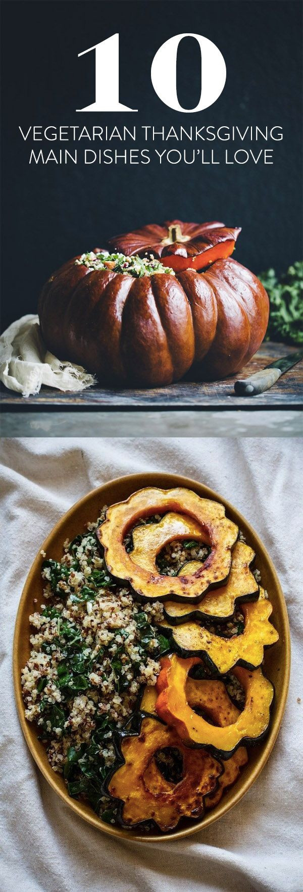 Vegetarian Thanksgiving Main Dish  Best 25 Thanksgiving ve ables ideas on Pinterest