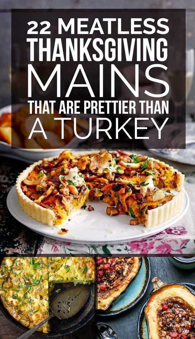 Vegetarian Thanksgiving Main Dishes  Organic 22 Delicious Meatless Main Dishes To Make For