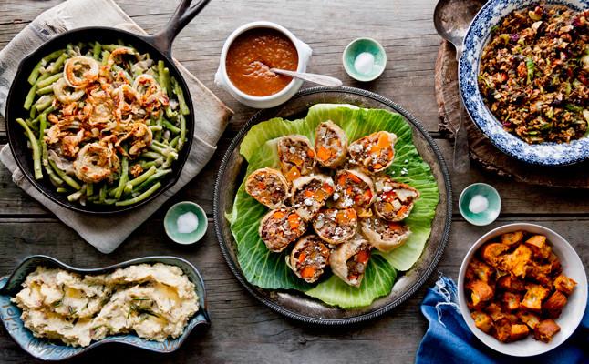 Vegetarian Thanksgiving Meal  A Ve arian Thanksgiving Menu 3 Day Game Plan