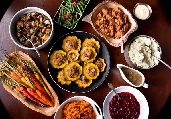 Vegetarian Thanksgiving Meal  A Ve arian Thanksgiving Menu
