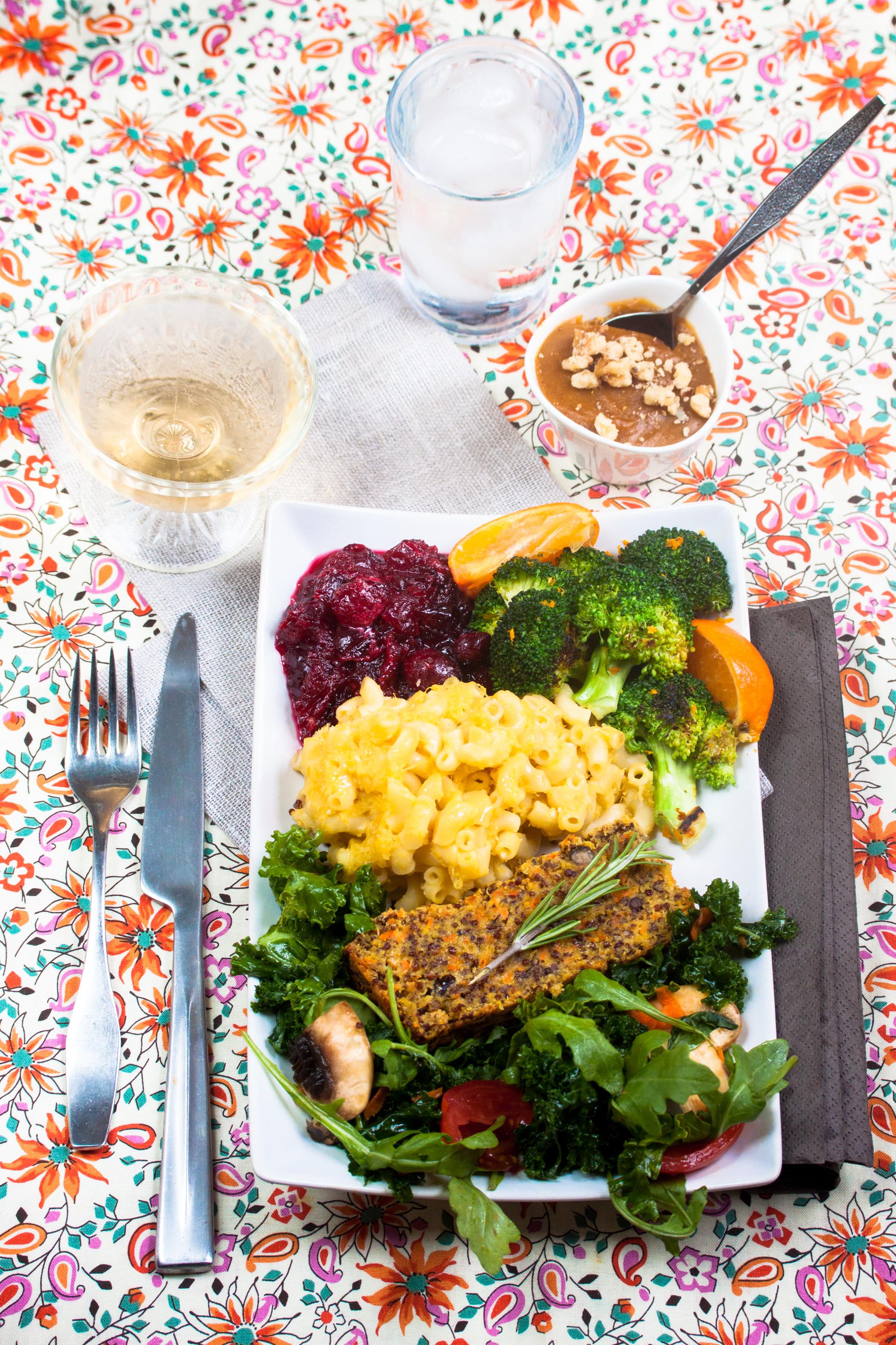 Vegetarian Thanksgiving Meal  Gluten Free Vegan Thanksgiving Menu