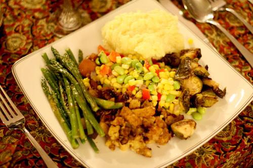 Vegetarian Thanksgiving Meal  Processed Vegan Foods and Processed Ve arian Foods