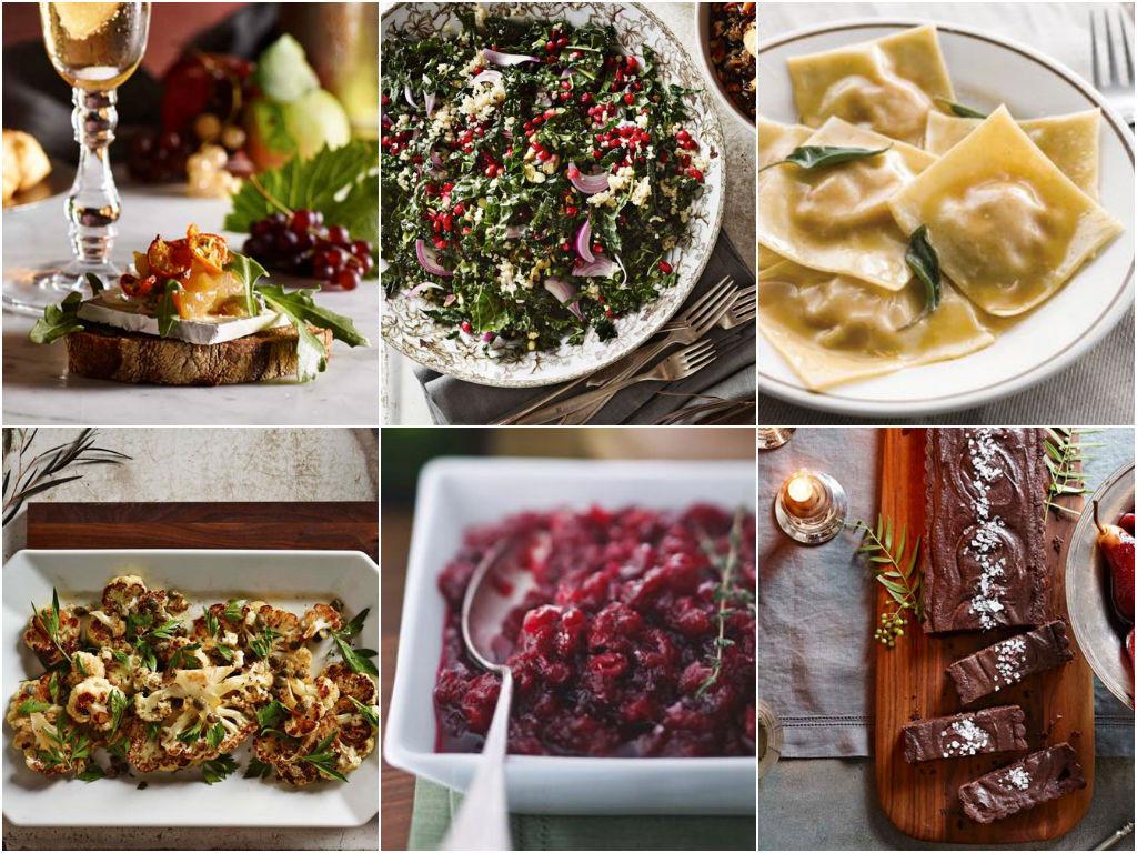 Vegetarian Thanksgiving Meal  Ve arian Thanksgiving Menu