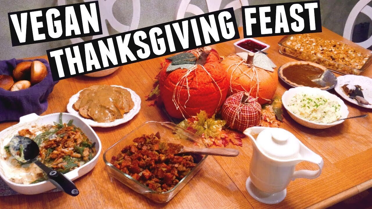 Vegetarian Thanksgiving Meal  GUIDE TO A VEGAN THANKSGIVING HOLIDAY FEAST 2016