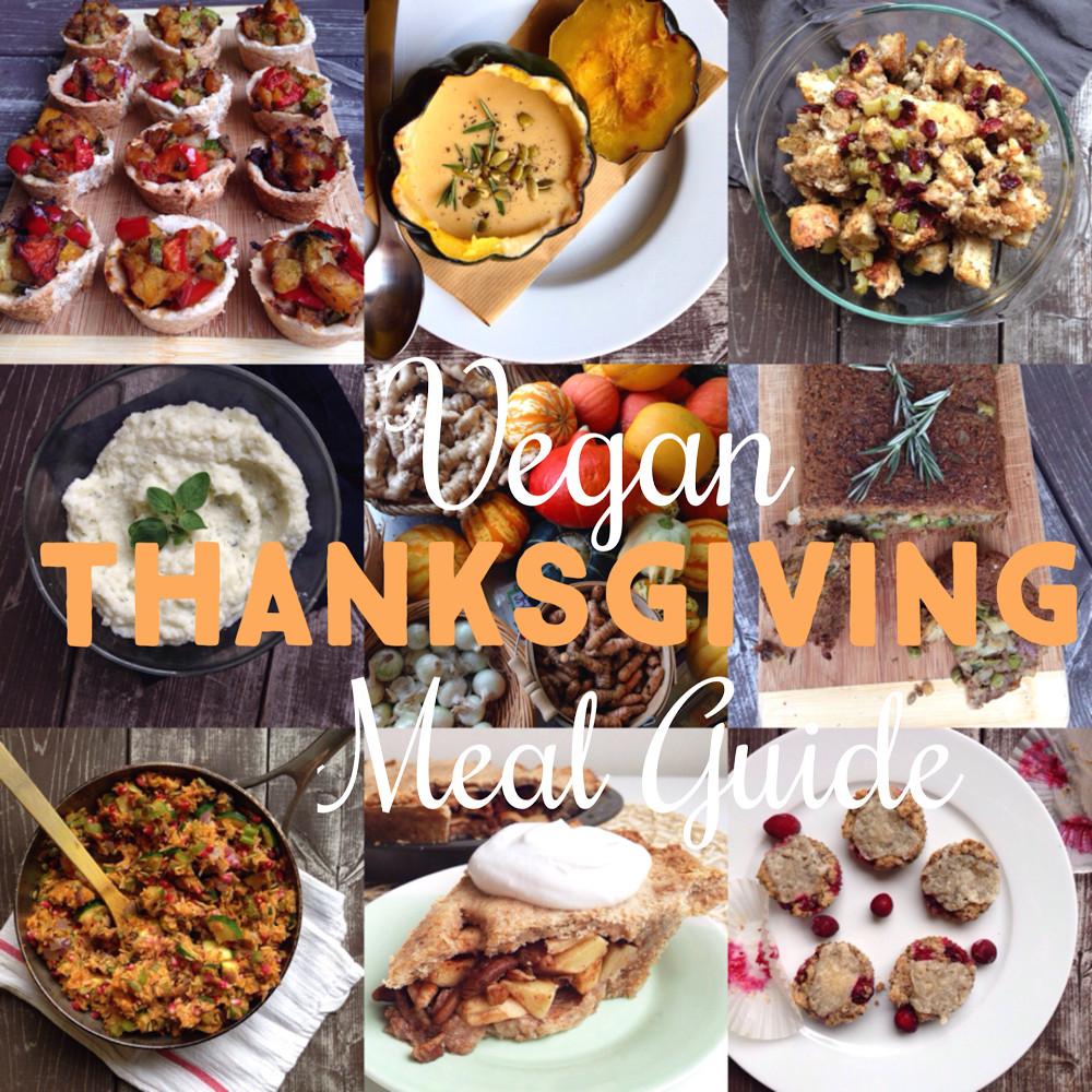 Vegetarian Thanksgiving Meal  Vegan Thanksgiving Meal Guide · The Body Book