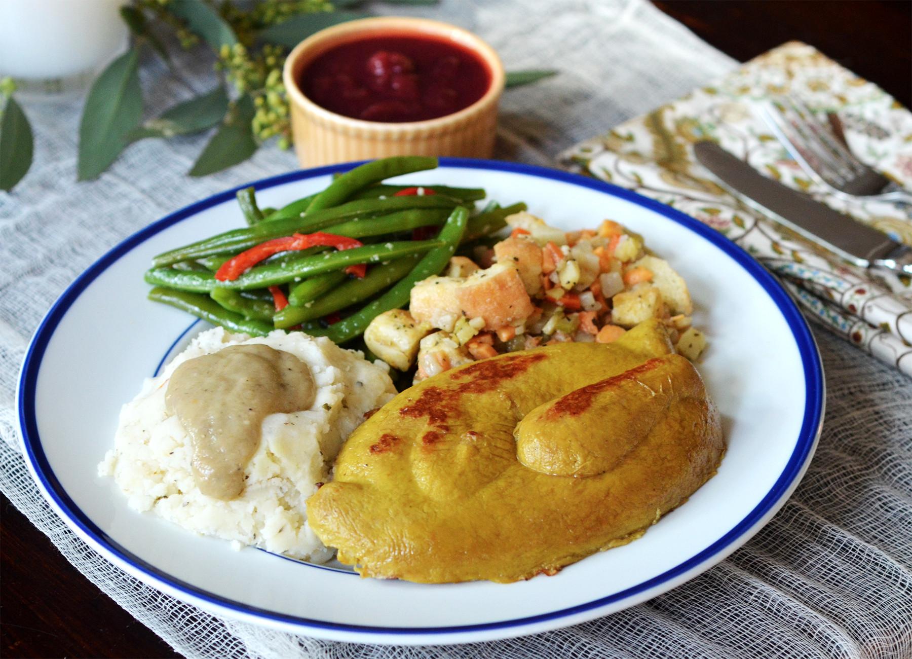 Vegetarian Thanksgiving Meal  Vegan Thanksgiving Take Home Meal in Atlanta