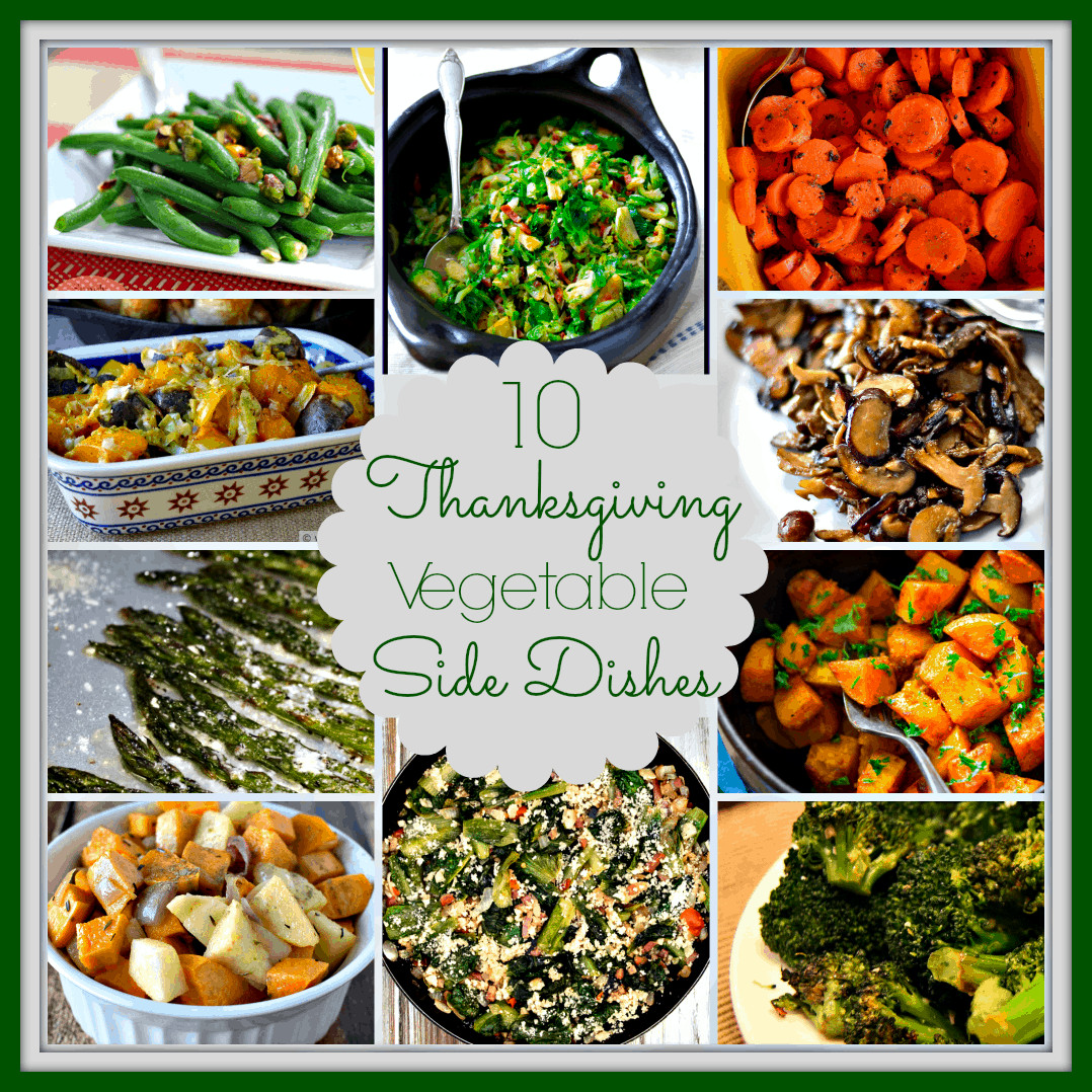 Vegetarian Thanksgiving Side Dishes  10 Ve able Side Dishes for Thanksgiving Upstate Ramblings