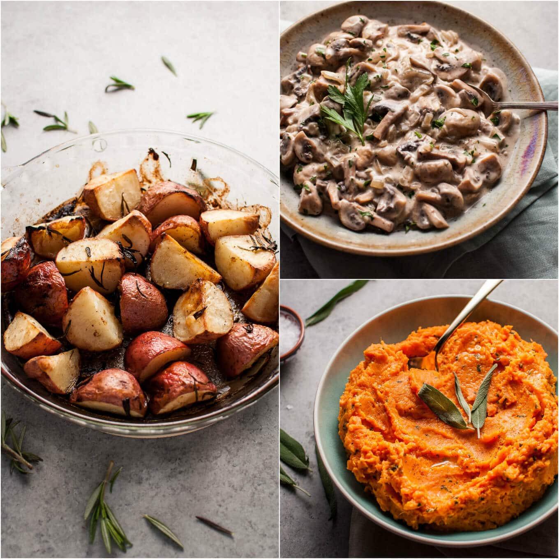 Vegetarian Thanksgiving Side Dishes  3 Easy Ve arian Thanksgiving Side Dishes • Salt & Lavender