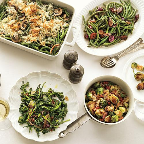 Veggie Side Dishes For Thanksgiving  Ve able Recipes for Thanksgiving