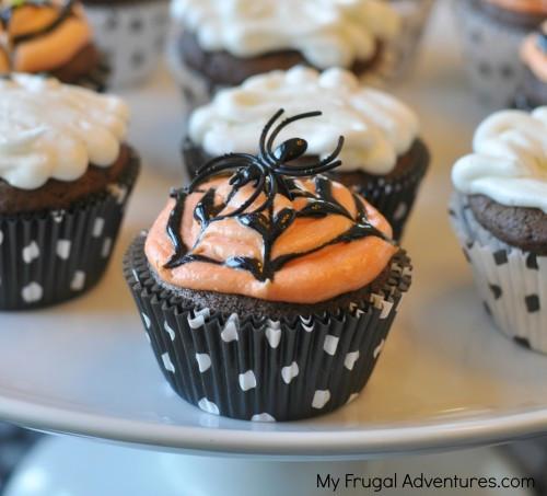Walmart Halloween Cupcakes  Simple Halloween Cupcake Ideas My Frugal Adventures