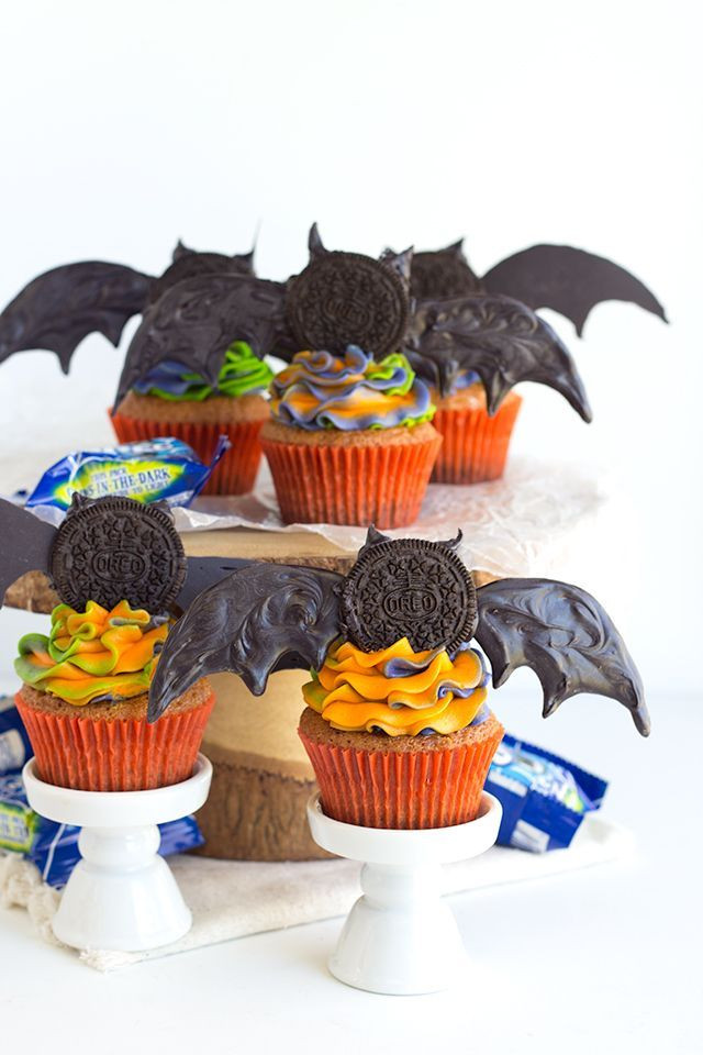 Walmart Halloween Cupcakes  Check out OREO Crusted Orange Fanta Cupcakes It s so easy