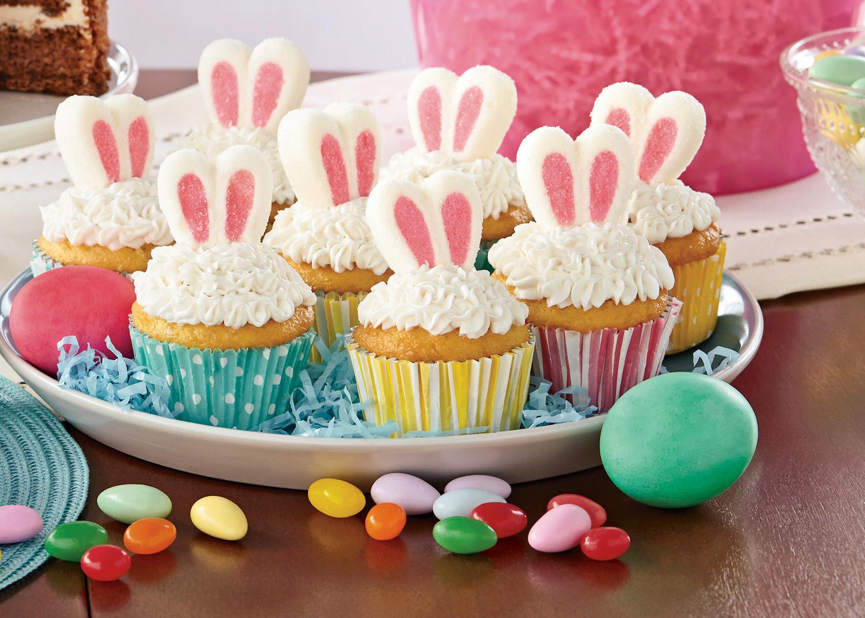 Walmart Halloween Cupcakes  Bunny Ear Cupcakes Recipe Walmart