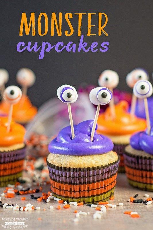 Walmart Halloween Cupcakes  Pillsbury Funfetti Halloween Cake Mix is easy and