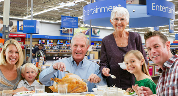 Walmart Thanksgiving Dinners Prepared  NOW YOU CAN EAT THANKSGIVING DINNER AT WALMART