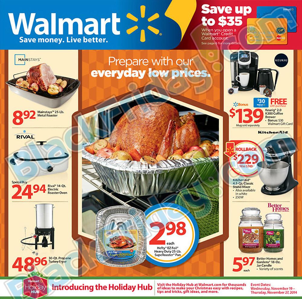 Walmart Thanksgiving Dinners Prepared  Walmart Thanksgiving Ad