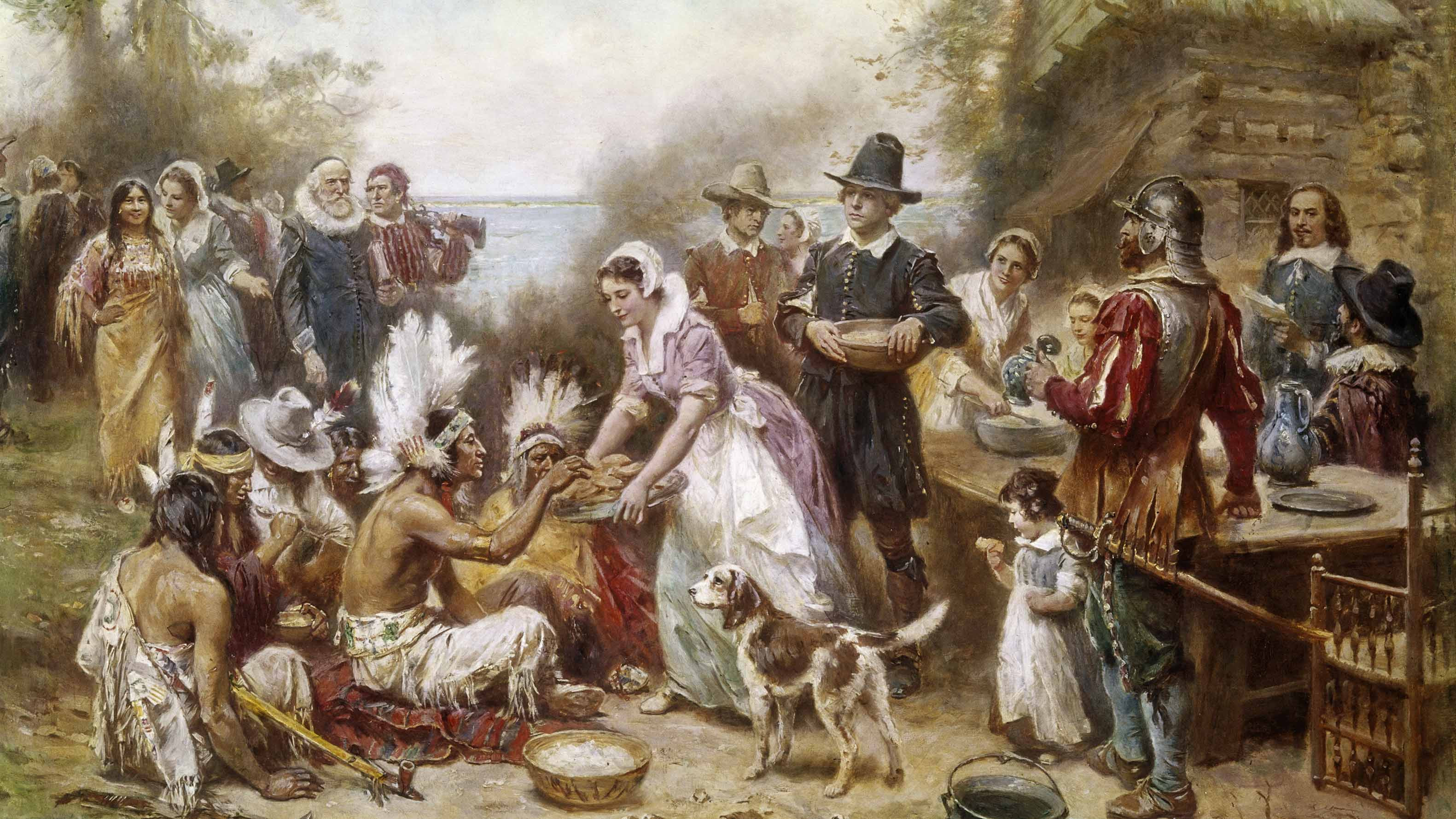 Was There Turkey At The First Thanksgiving  The First Thanksgiving