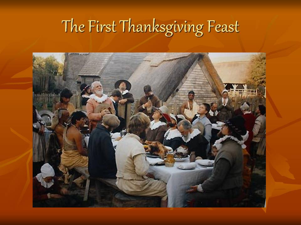 Was There Turkey At The First Thanksgiving  The First Thanksgiving Feast Презентация 7751 3