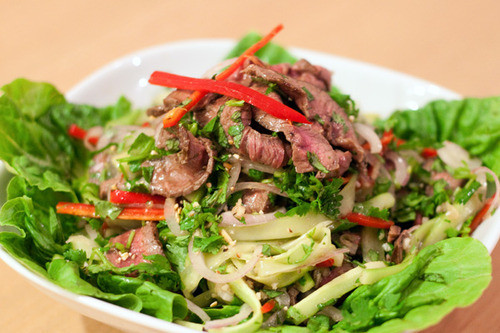 Waterfall Beef Salad  Thai Waterfall Beef Salad COOKING IN THE CITY Recipes