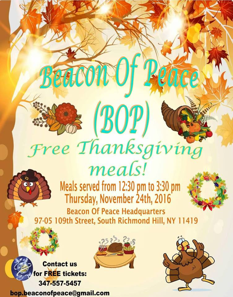 Wegmans Thanksgiving Dinner 2019  Free Thanksgiving Meals 2016 – Beacon of Peace