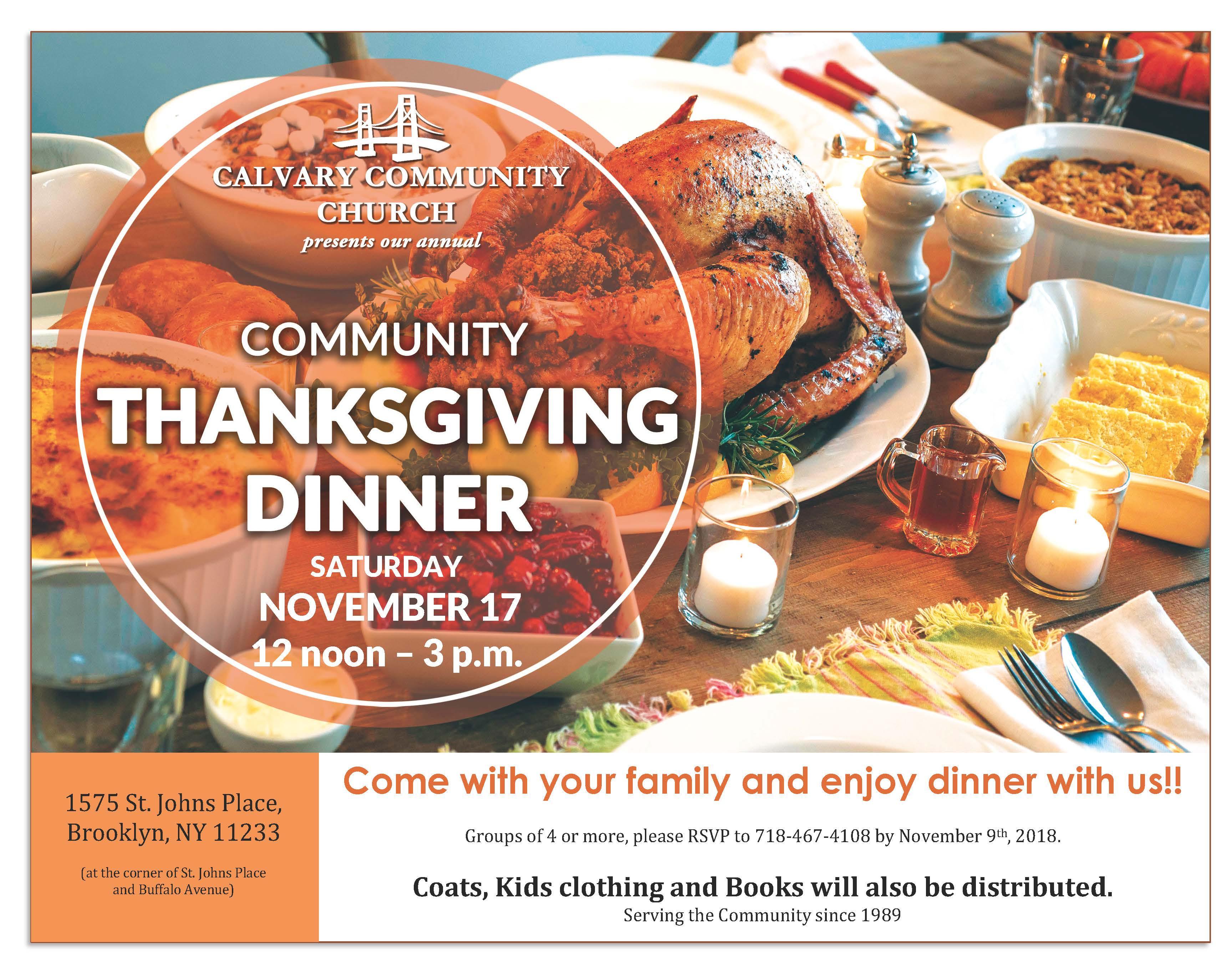 Wegmans Thanksgiving Dinner 2019  Calvary munity Thanksgiving Dinner